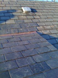 Finished Slate Roof