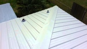 cap to cover standing seam (NOT MY WORK)