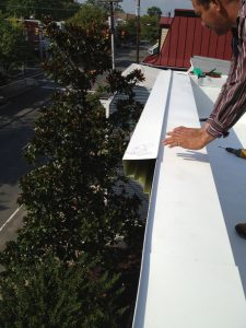 Cornice and coping